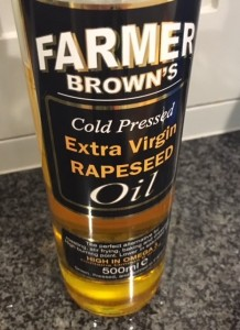rapeseed oil again