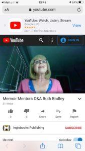 Guest author for Memoir Mentors